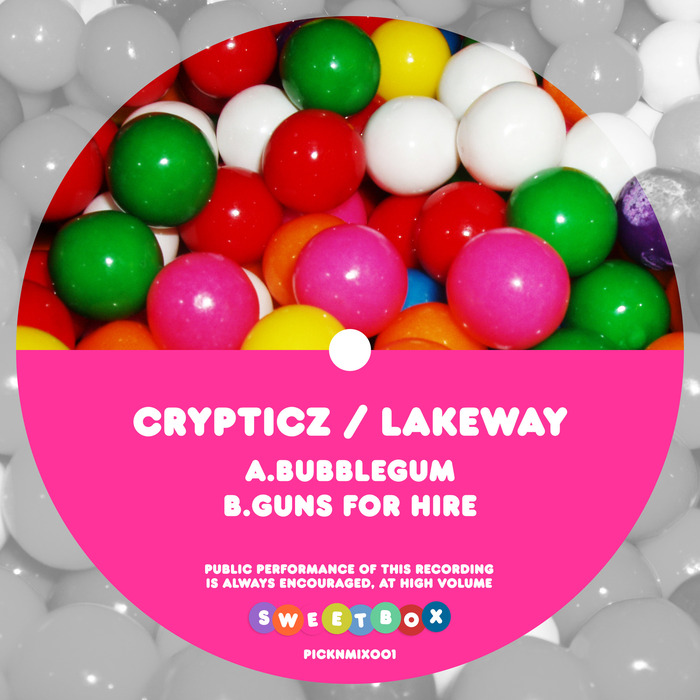 CRYPTICZ/LAKEWAY - Bubblegum/Guns For Hire