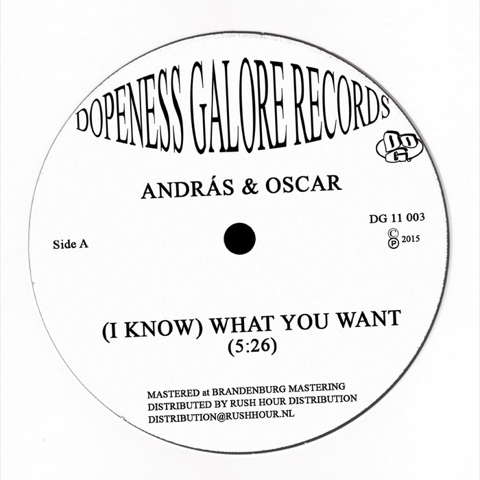 ANDRAS/OSCAR - (I Know) What You Want