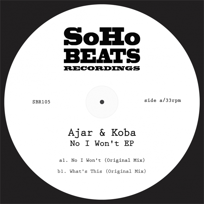 AJAR/KOBA - No I Won't EP