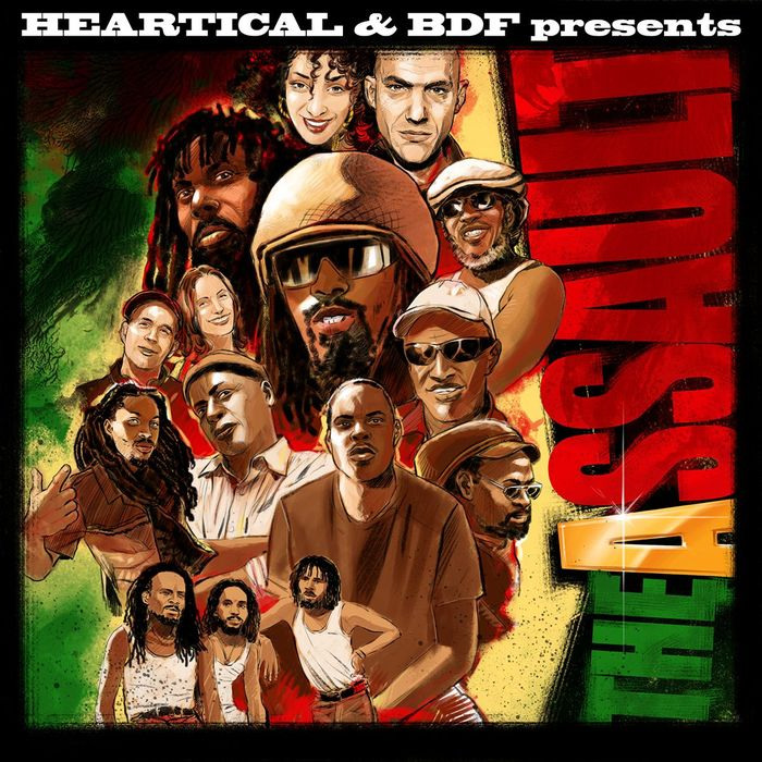 VARIOUS - Heartical & BDF Presents: The Assault