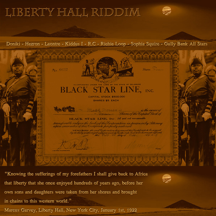 VARIOUS - Liberty Hall Riddim