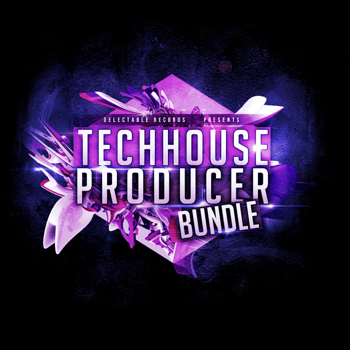DELECTABLE RECORDS - Tech House Producer Bundle (Sample Pack WAV)