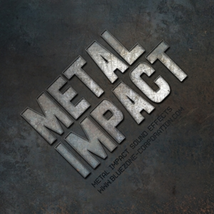 BLUEZONE CORPORATION - Metal Impact Sound Effects (Sample Pack WAV/AIFF)