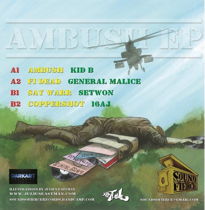 KID B/GENERAL MALICE/SETWON/16AJ - Ambush EP