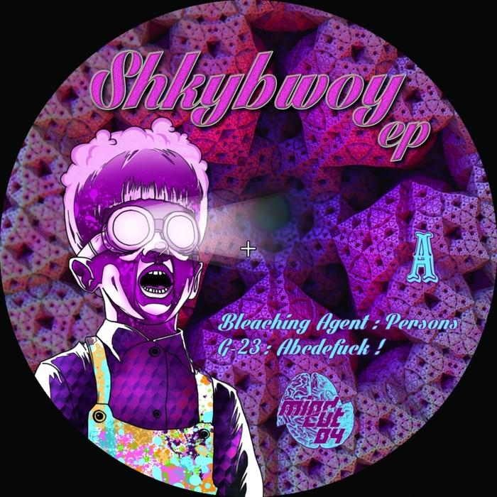G 23/KAMIKAZE SPACE PROGRAMME/MYLER/BLEACHING AGENT - Shkybwoy EP