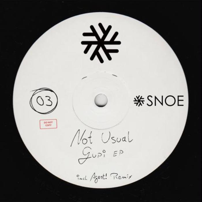 NOT USUAL - Gupi EP