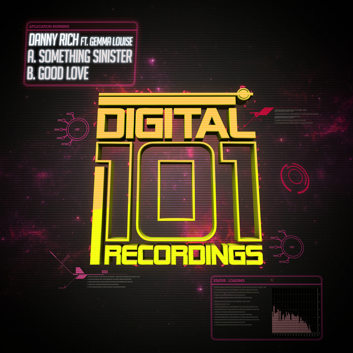 RICH, Danny feat GEMMA LOUISE - Something Sinister