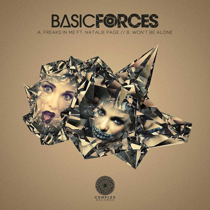 BASIC FORCES FEAT NATALIE PAGE - Freaks In Me/Won't Be Alone