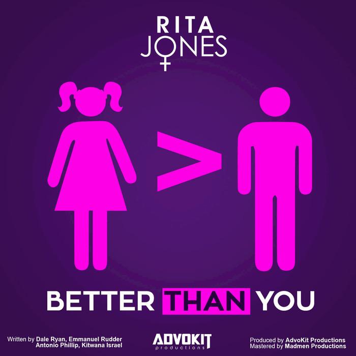 RITA JONES - Better Than You