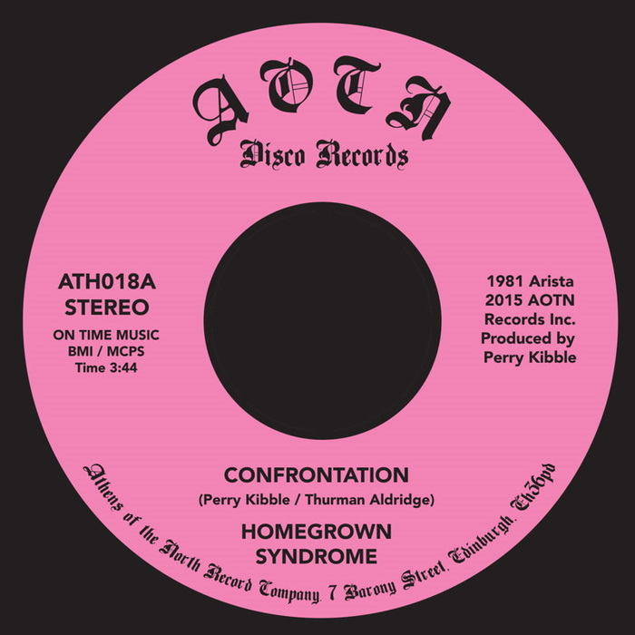 HOMEGROWN SYNDROME - Confrontation