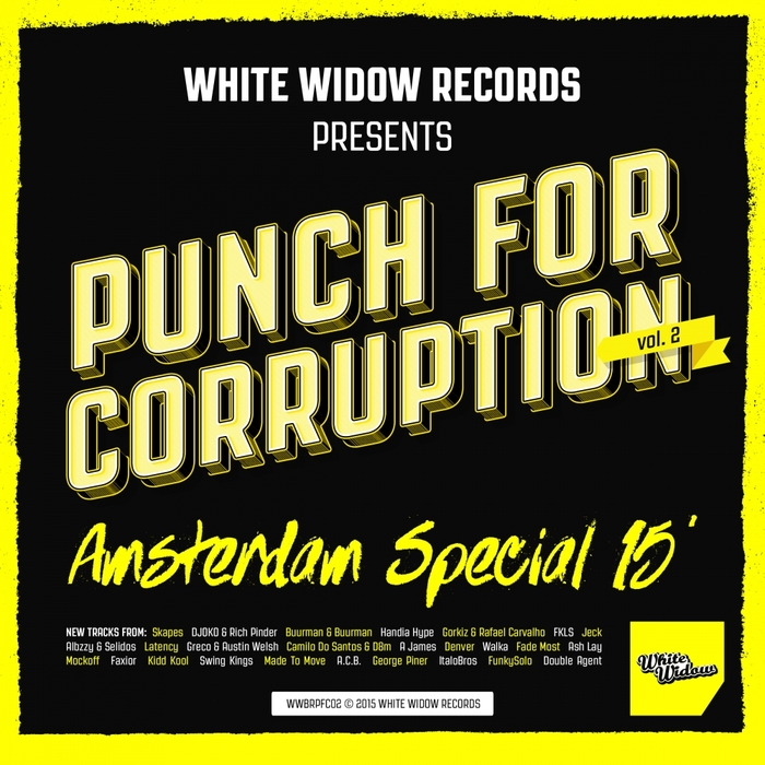 VARIOUS - Punch For Corruption Vol 2 Amsterdam Special 15