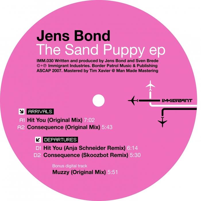 JENS BOND - The Sand Puppy