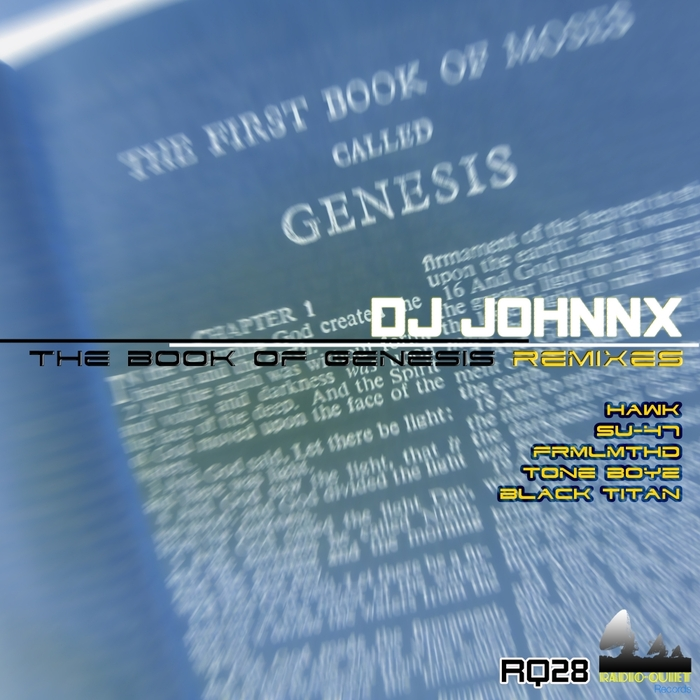 DJ JOHNNX - The Book Of Genesis Remixes