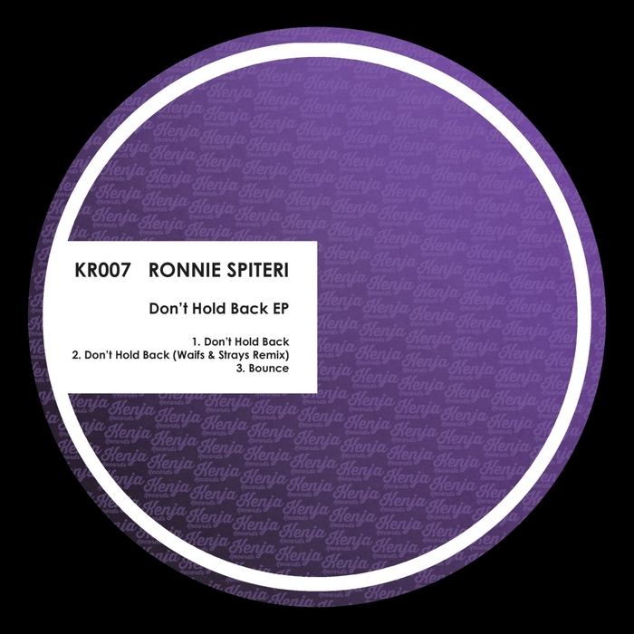 RONNIE SPITERI - Dont Hold Back EP