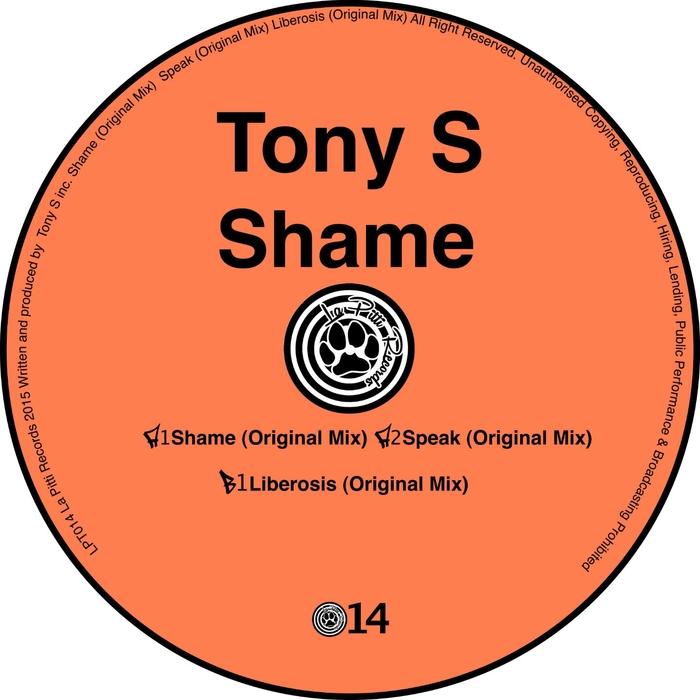 TONY S - Shame