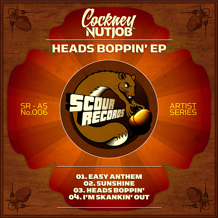 COCKNEY NUTJOB - Heads Boppin' EP