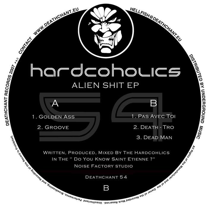 HARDCOHOLICS - Alien Shit EP