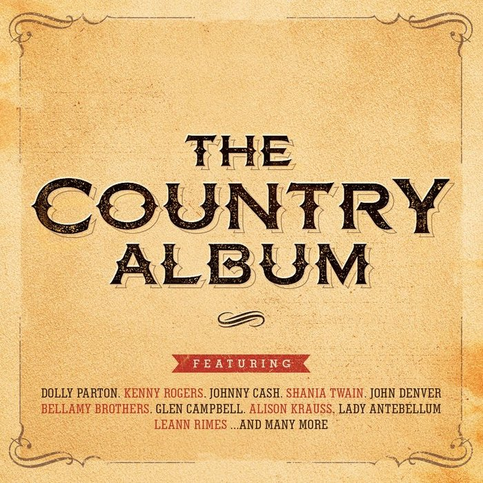 VARIOUS - The Country Album