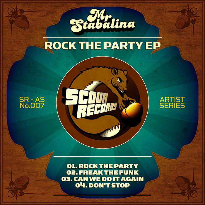 MR STABALINA - Rock The Party EP