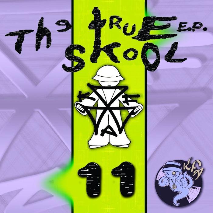 DJ LUNA-C/CRU-L-T/DEMCORE/EYEOPENA/AUDIO-X - True Skool EP Vol 11