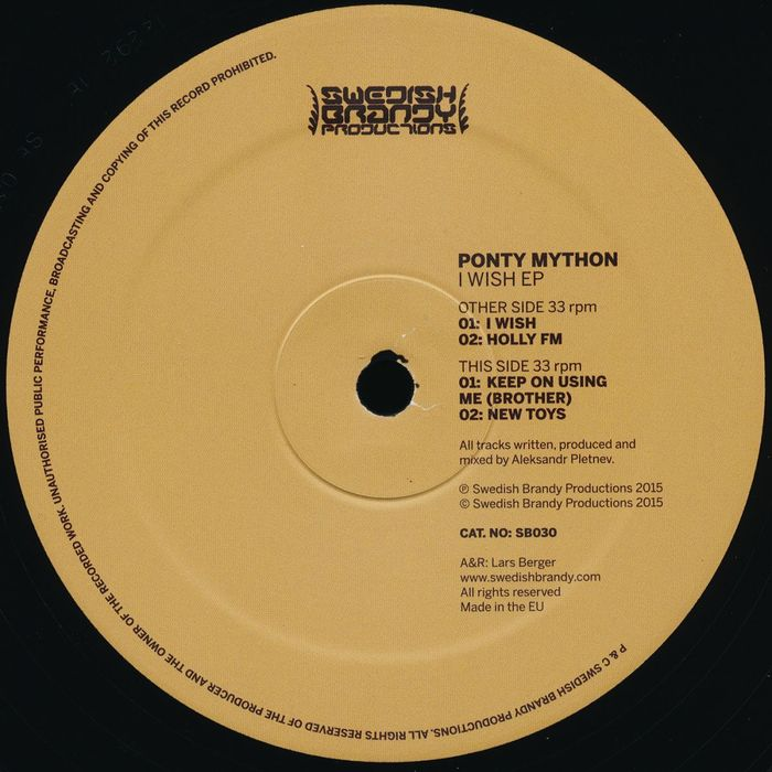 PONTY MYTHON - I Wish EP