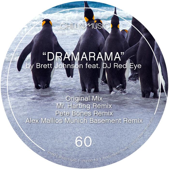 BRETT JOHNSON feat DJ RED EYE - Dramarama