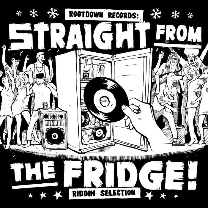 VARIOUS - Straight From The Fridge Riddim Selection