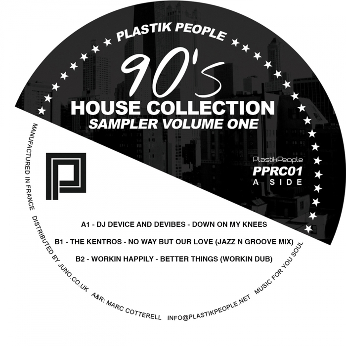 DJ DEVICE/DEVIBES/THE KENTROS/WORKIN' HAPPLIY - 90's House Collection Vol 1