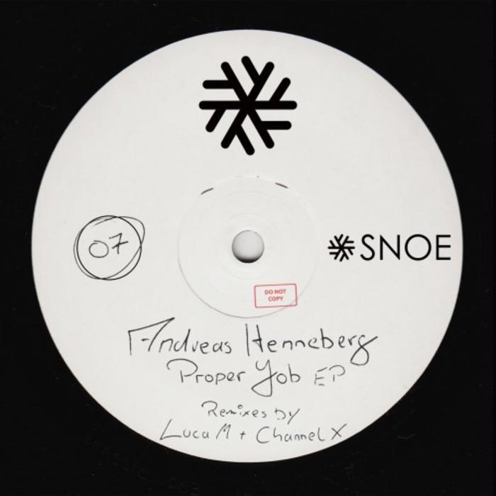 ANDREAS HENNEBERG - Proper Job EP