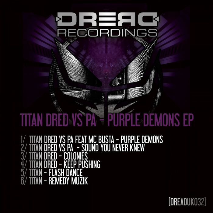 TITAN DRED/PA - Purple Demons EP