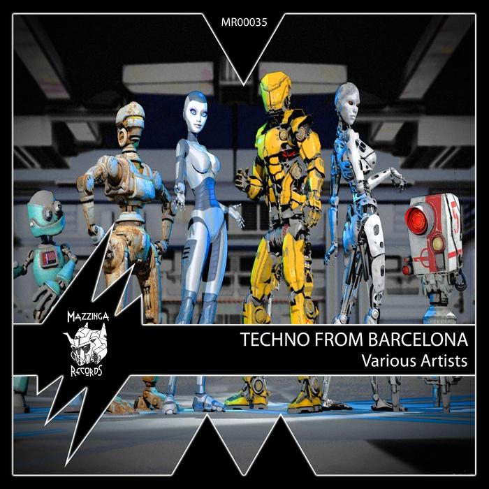 OSCAR ESCAPA/LANDER B/MARTIN LACROIX/VICTOR DEL MORAL/FRAN NAVAEZ/ELEK-FUN - Techno From Barcelona
