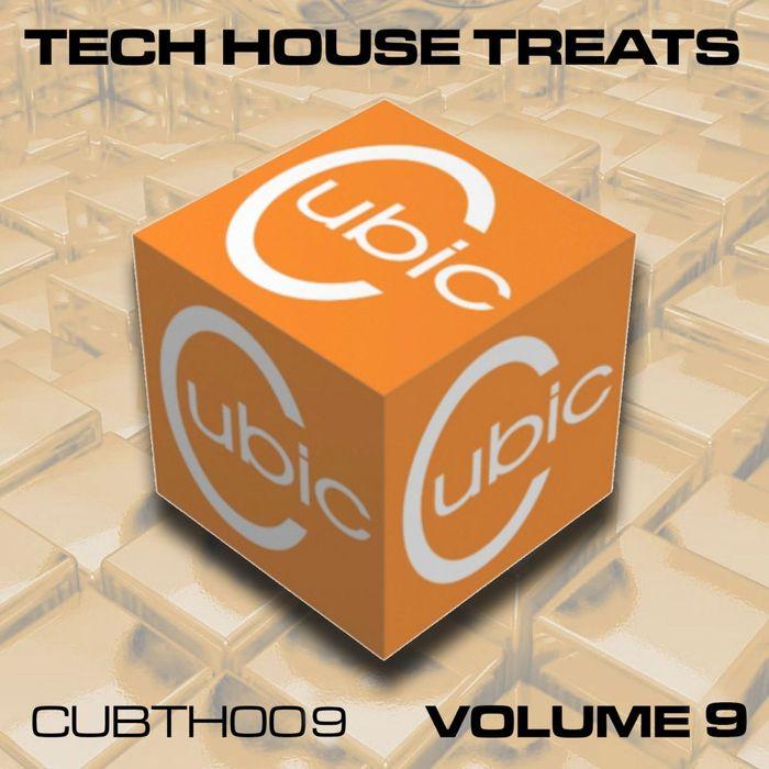 TONY THOMAS/THE SULTANS OF SIC/SYNAPTIC/VORTEX/DAN SODEN/MELT - Cubic Tech House Treats Vol 9