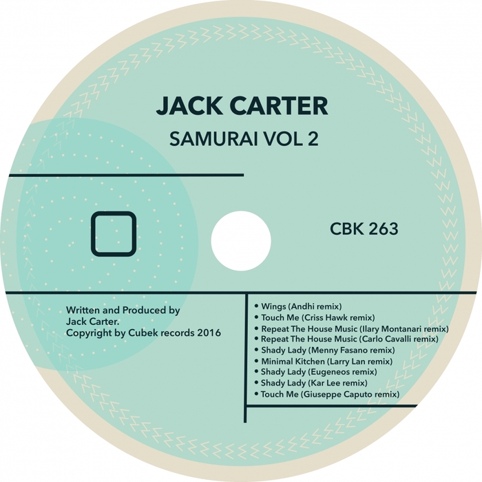 JACK CARTER - Samurai Vol 2