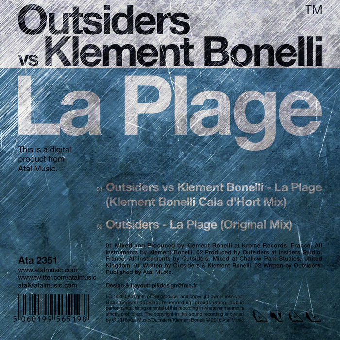 OUTSIDERS - La Plage
