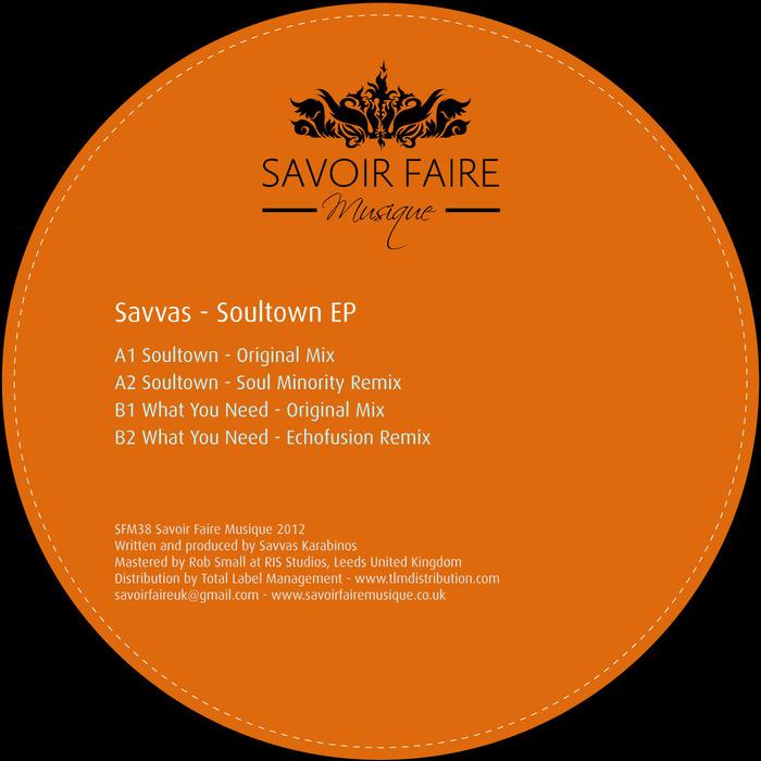 SAVVAS - Soultown EP