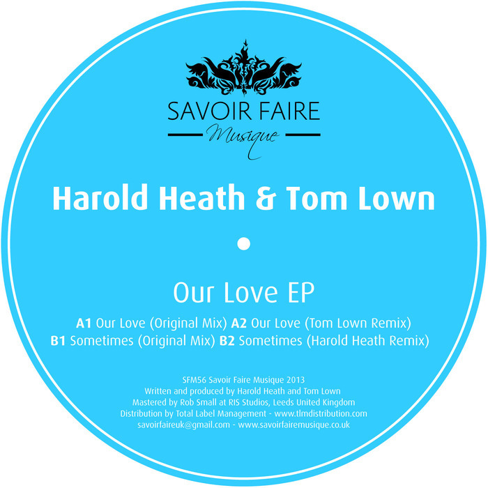 HAROLD HEATH/TOM LOWN - Our Love EP