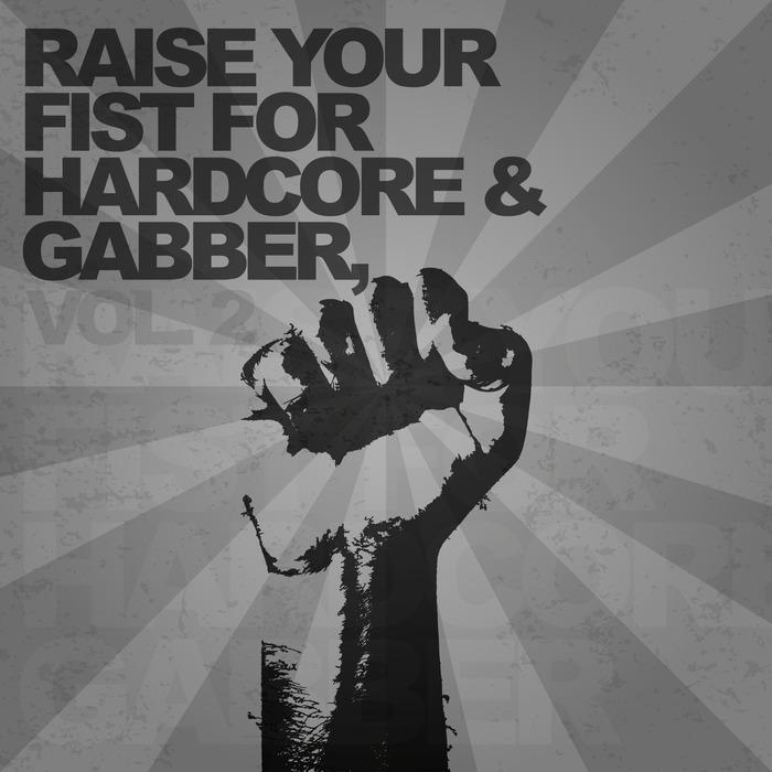 VARIOUS - Raise Your Fist For Hardcore & Gabber Vol 2