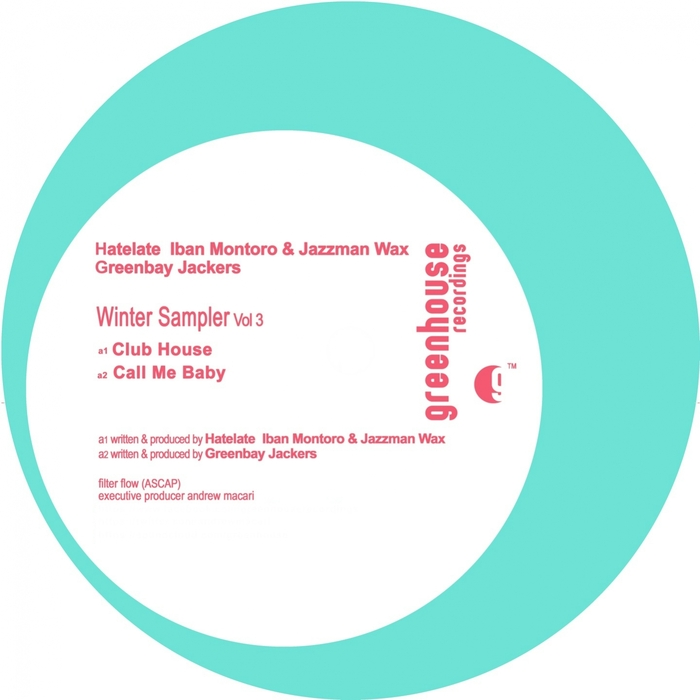 HATELATE/IBAN MONTORO/JAZZMAN WAX/GREENBAY JACKERS - Winter Sampler Vol 3
