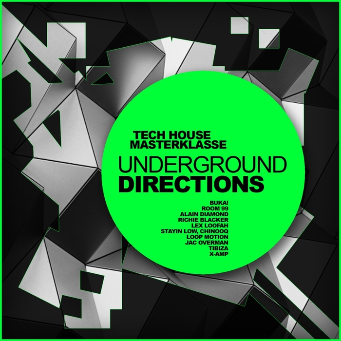 VARIOUS - Tech House Masterklasse/Underground Directions