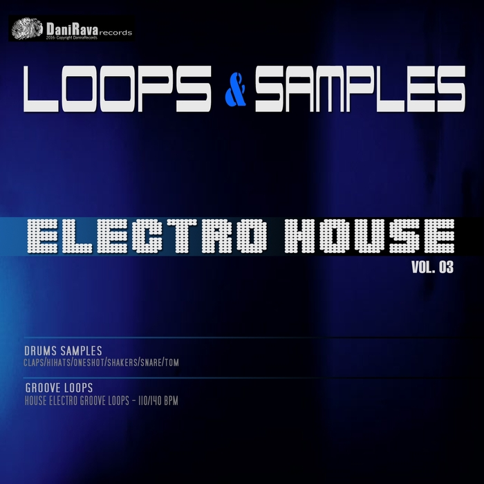 DANIRAVA RECORDS LOOPS - Loops&Samples Vol 3: House Electro