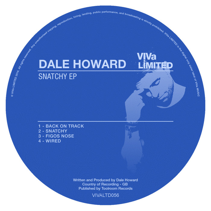DALE HOWARD - Snatchy EP
