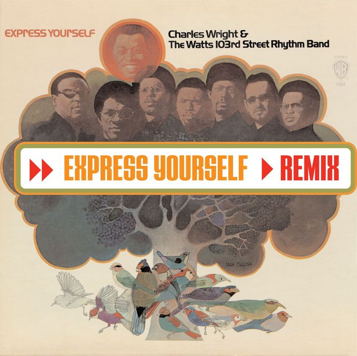 CHARLES WRIGHT & THE WATTS 103RD STREET RHYTHM BAND - Express Yourself