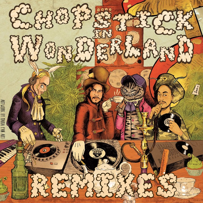 CHOPSTICK DUBPLATE - Chopstick In Wonderland Remixes