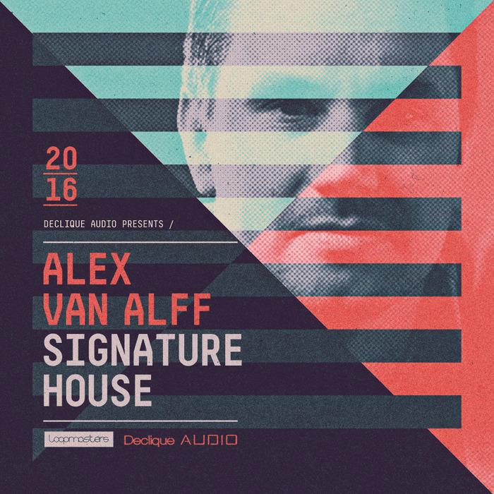 ALEX VAN ALFF - Signature House (Sample Pack WAV/APPLE/LIVE/REASON)