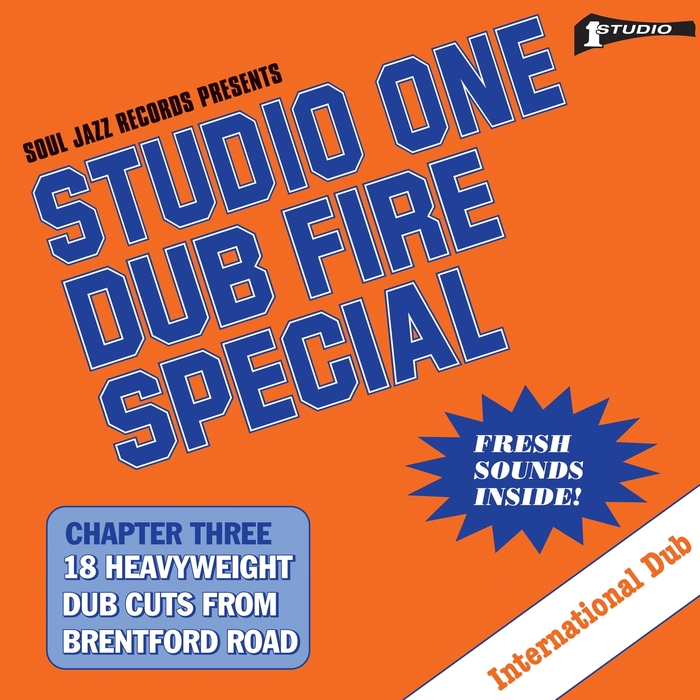 STUDIO ONE - Soul Jazz Records Presents STUDIO ONE Dub Fire Special