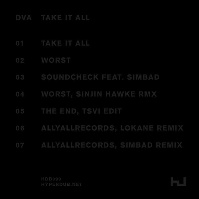 DVA - TAKE IT ALL EP