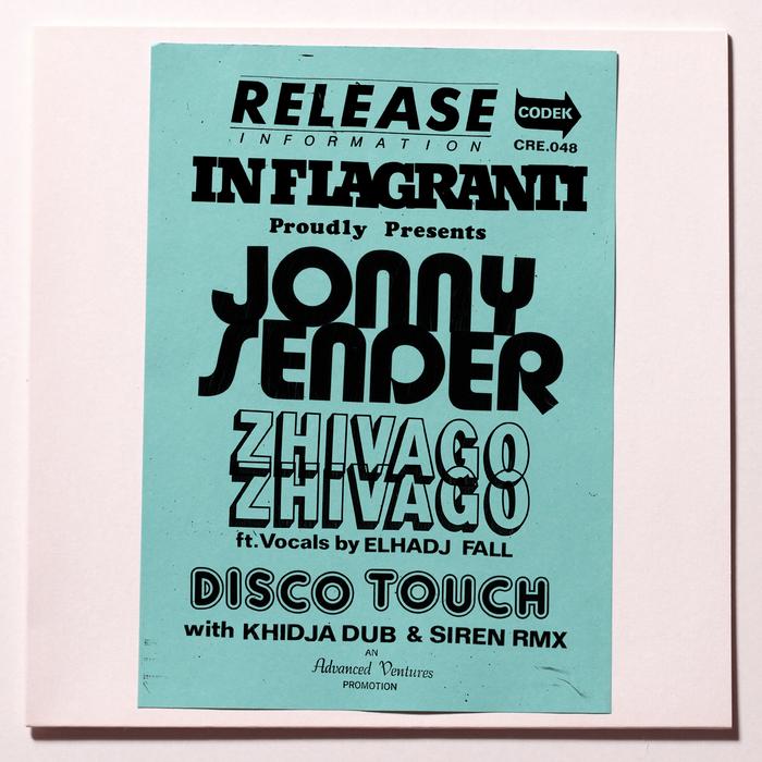 JONNY SENDER - Jonny Sender EP