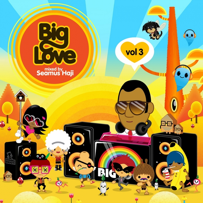 VARIOUS - Big Love Vol 3 Mixed By Seamus Haji