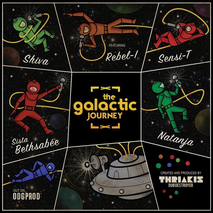 THRIAKIS DUB DESTROYER - The Galactic Journey