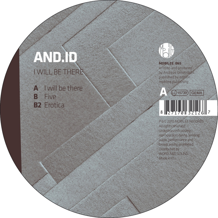 AND.ID - I Will Be There
